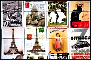 postcards of paris